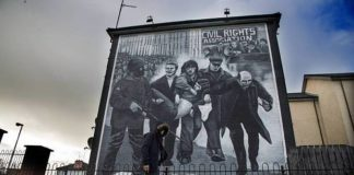 bloody sunday murales derry