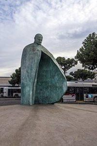 statua giovanni paolo brutture