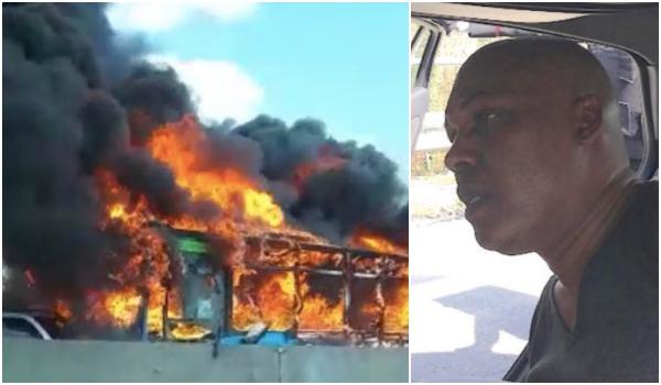 Ousseynou Sy incendio autobus
