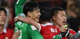 giocatori di calcio cinesi