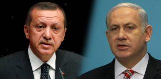 erdogan a confronto con netanyahu