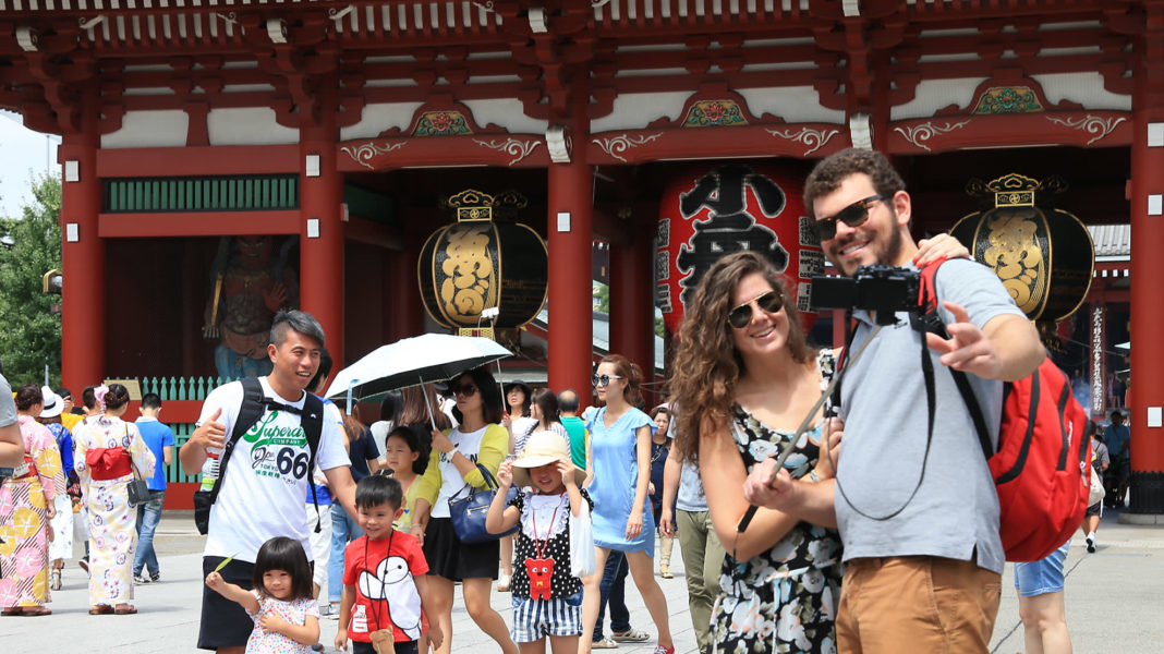 giappone turisti