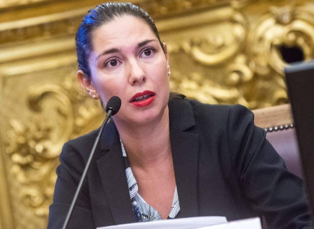 La deputata M5S Giulia Sarti
