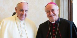 monsignor vincenzo paglia e papa francesco