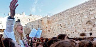 muro del pianto, donne aggredite