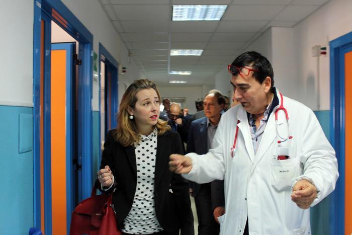 Il ministro della Salute Giulia Grillo visita l'ospedale dI Locri
