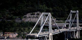 Il ponte Morandi di Genova, crollato il 14 agosto scorso