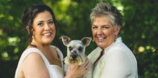 due spose lesbiche
