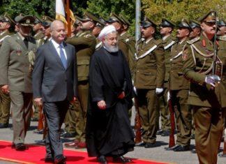Il presidente iraniano Rohani in visita in Iraq