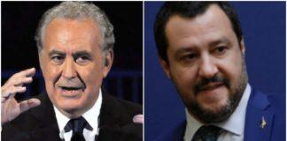 Michele Santoro Matteo Salvini