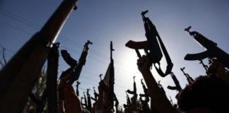 Armi pronte all'uso dei terroristi