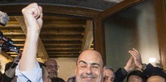 Il neosegretario Pd Nicola Zingaretti