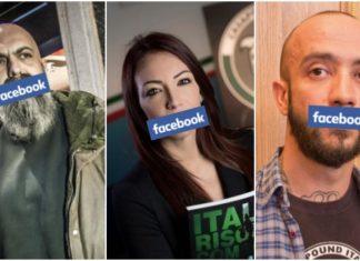 censura facebook casapound
