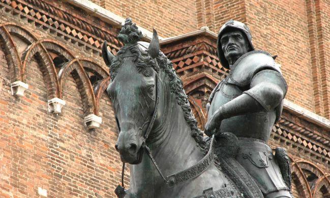 Bartolomeo Colleoni, uno dei più grandi condottieri italiani
