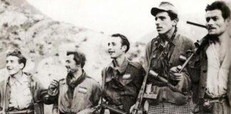 partigiani imboscati in montagna