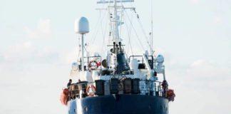 La nave della Ong Sea Eye Alan Kurdi