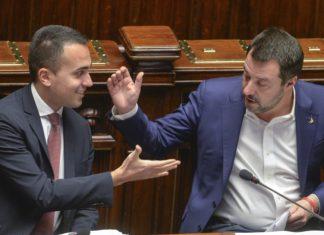 I vicepremier Di Maio e Salvini