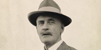 Lo scrittore norvegese Knut Hamsun