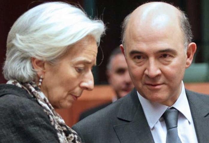 Lagarde (Fmi) e Moscovici (Ue)