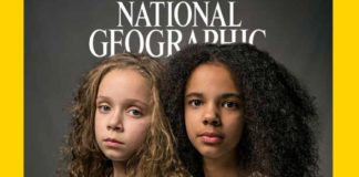 Copertina antirazzista del National Geographic