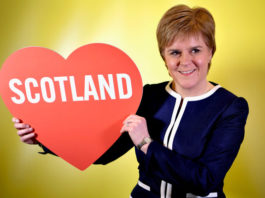 nicola sturgeon primo ministro scozia