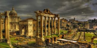 Il Foro a Roma