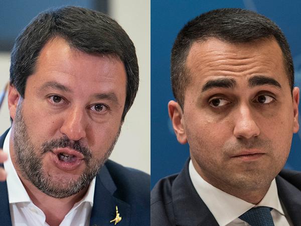 I vice premier Salvini e Di Maio