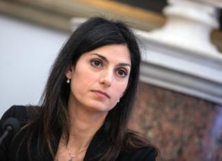 Il sindaco di Roma Virginia Raggi
