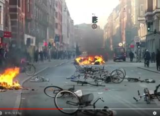 Copenhagen scontri