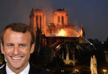 Macron cresce nei sondaggi dopo Notre Dame