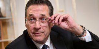 Il vicecancelliere austriaco Strache