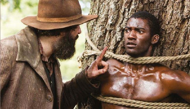Scena del film Radici sulla tratta degli schiavi