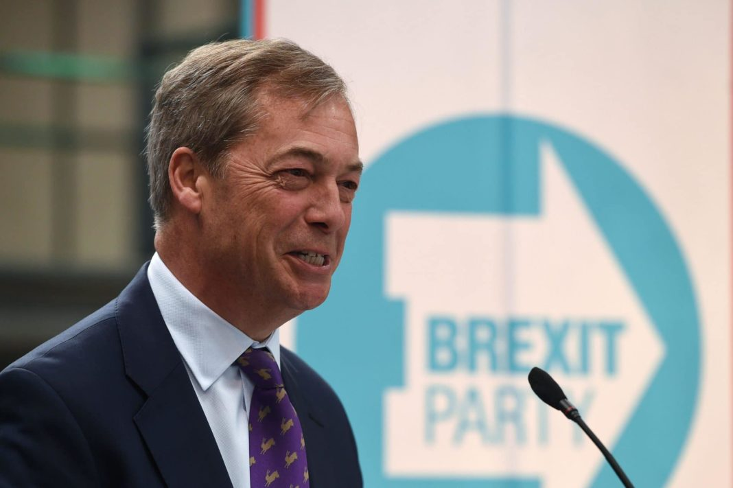 nigel farage, brexit party