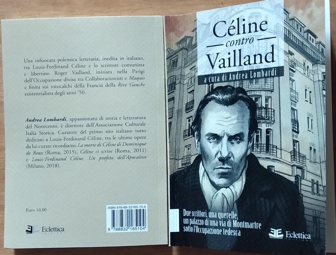 celine contro vailland, libro di andrea lombardi