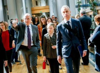 greta thurnberg al parlamento europeo