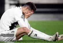 CR7 dopo la sconfitta con l'Ajax