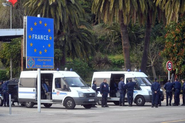 La frontiera Italia-Francia