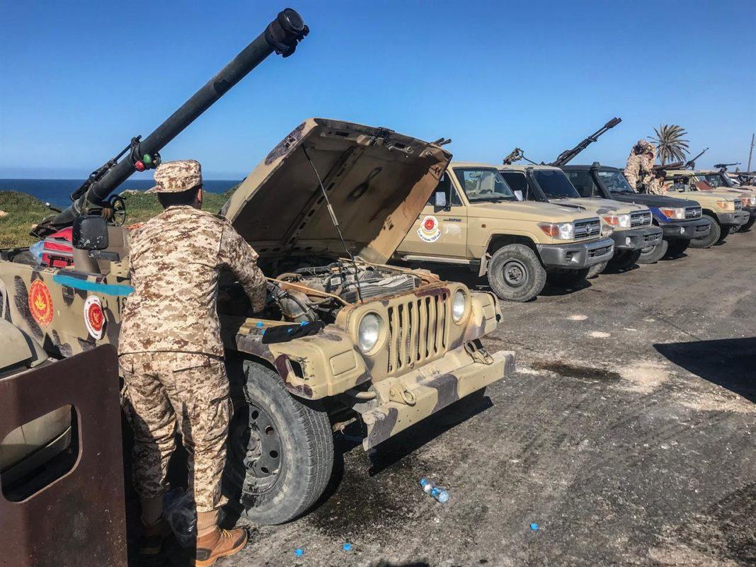 esercito regolare della libia