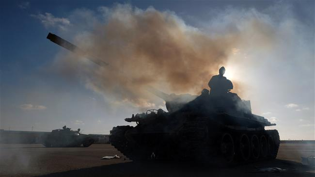 libia, carri armati