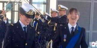 unione civile tra due donne della marina militare