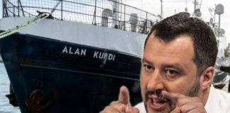nave alan kurdi di ong più foto di salvini