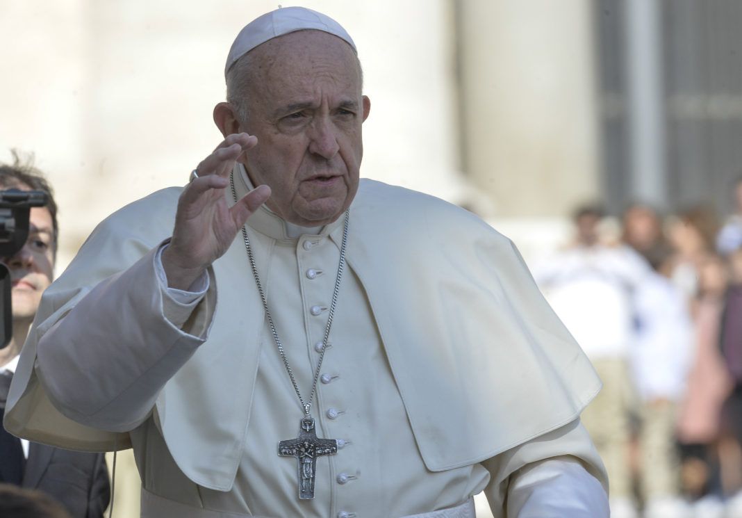 papa francesco, benedizione