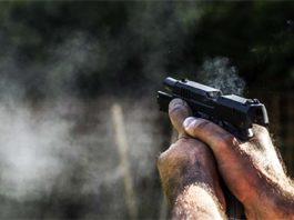 Pistola che spara