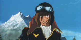 Capitan Harlock famoso anime giapponese
