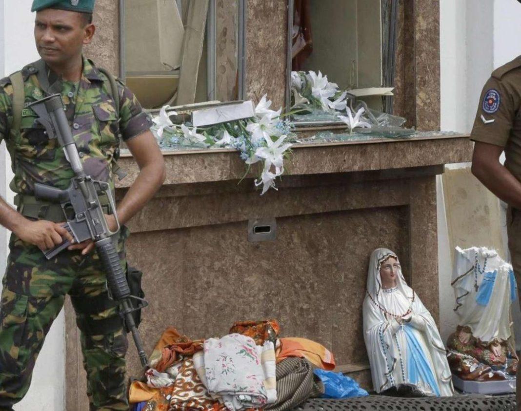 sri lanka, chiesa presidiata dopo attacchi
