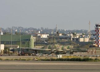 L'aeroporto di Mitiga, in Libia