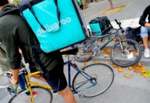 riders di deliveroo