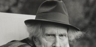 Il poeta americano Ezra Pound