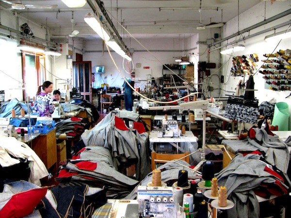 moda made in italy cinesi