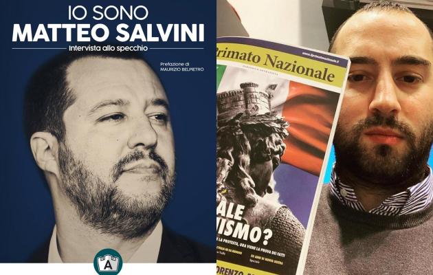 Copertina libro Salvini e Francesco Polacchi